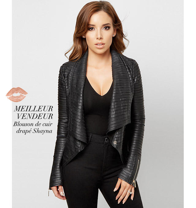 Best Seller: Shayna Leather Jacket