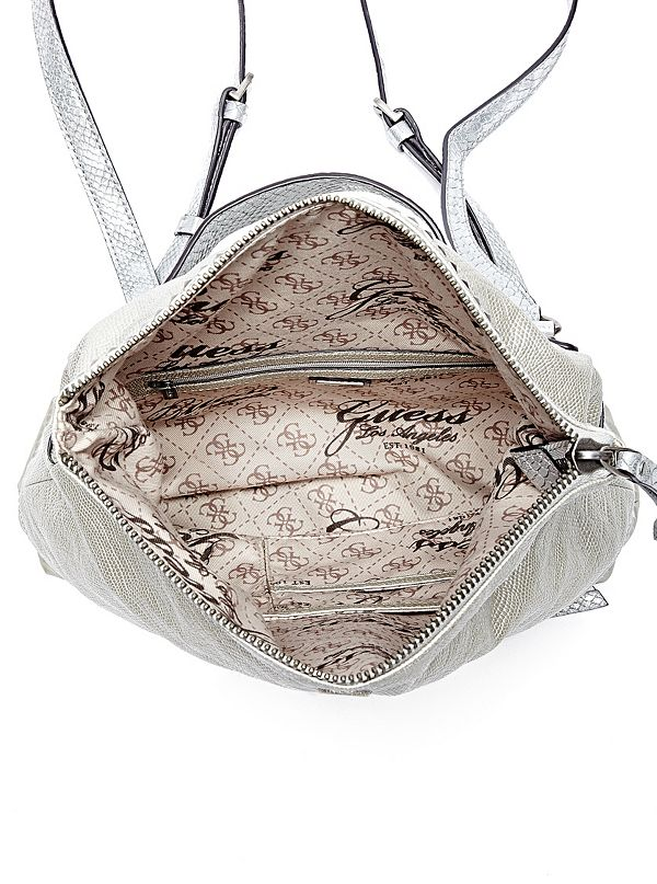 Dylan Silver Convertible Backpack
