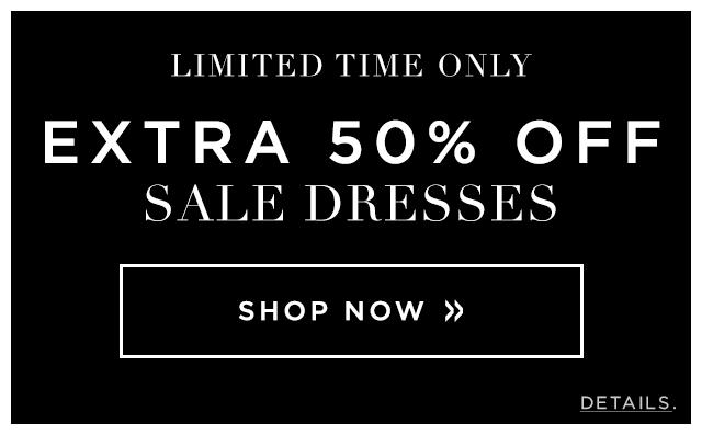 Extra 50% Off Sale Dresses