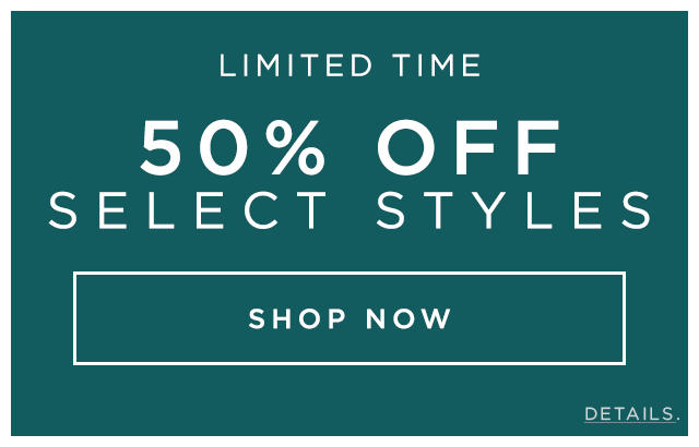 Limited Time 50% OFF