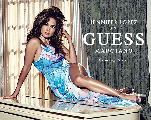 JENNIFER LOPEZ FOR GUESS MARCIANO