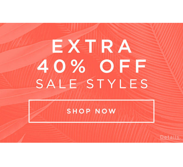 40-50% Off Select Styles