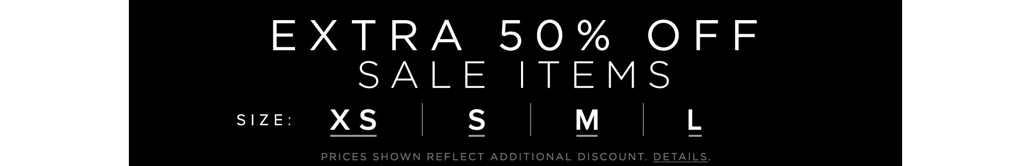 Extra 50 Off Sale Items