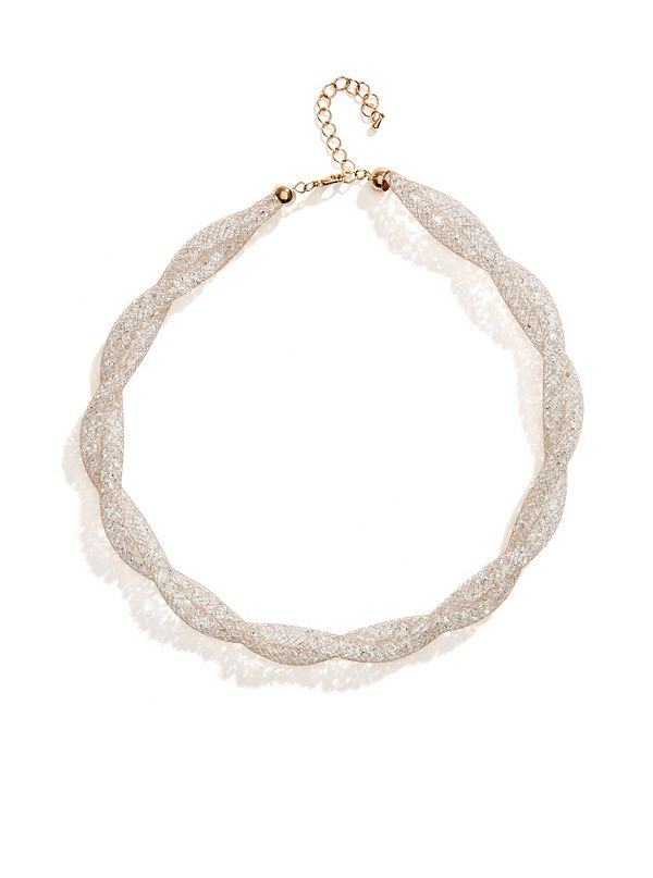 Patricia Gold-Tone Beaded Twist Choker