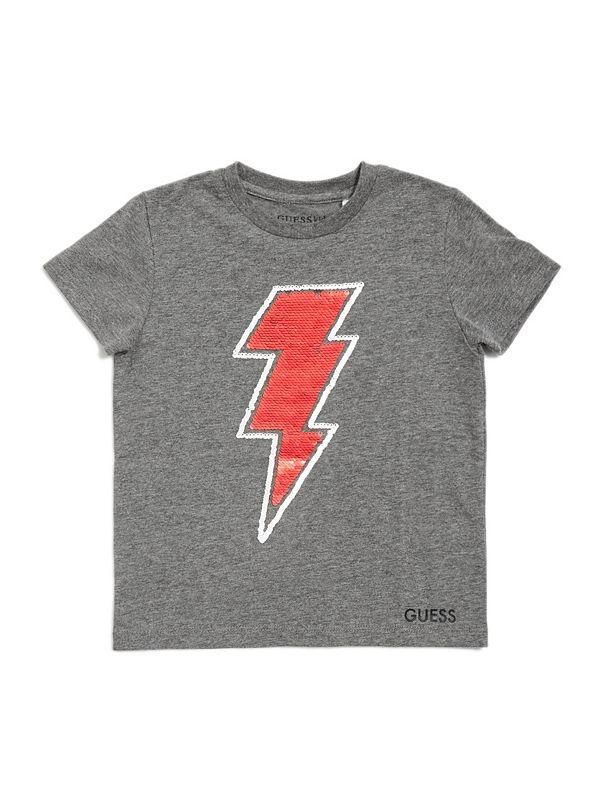2d370601b5 Zane Sequin Lightning-Bolt Tee (2-6)