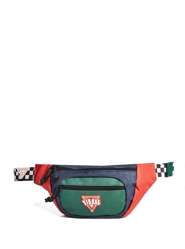 59f2a8b4c59e NL739783. best seller · GUESS x J Balvin Color-Block Logo Belt Bag