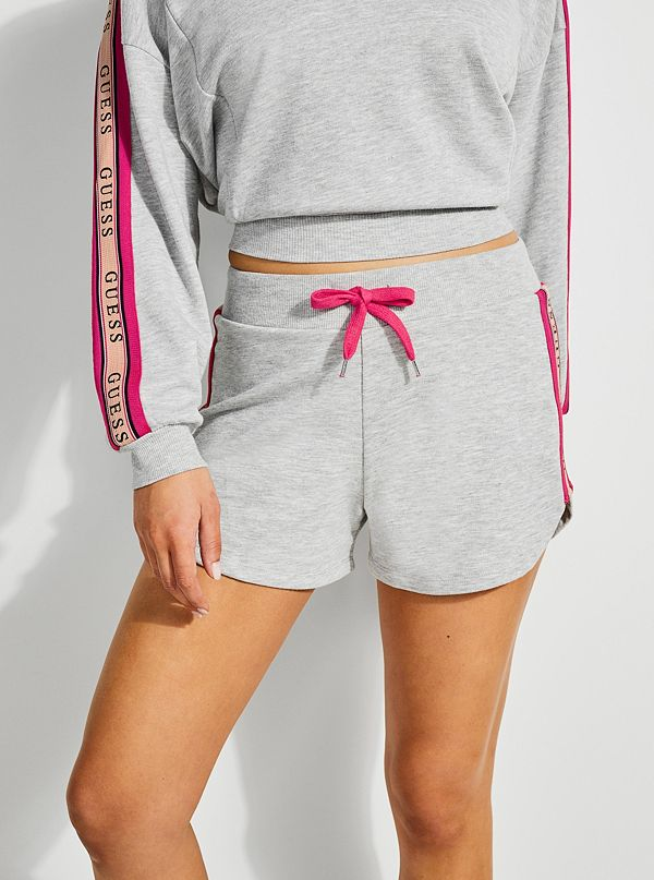 19be35298af91e Logo-Trim French Terry Shorts