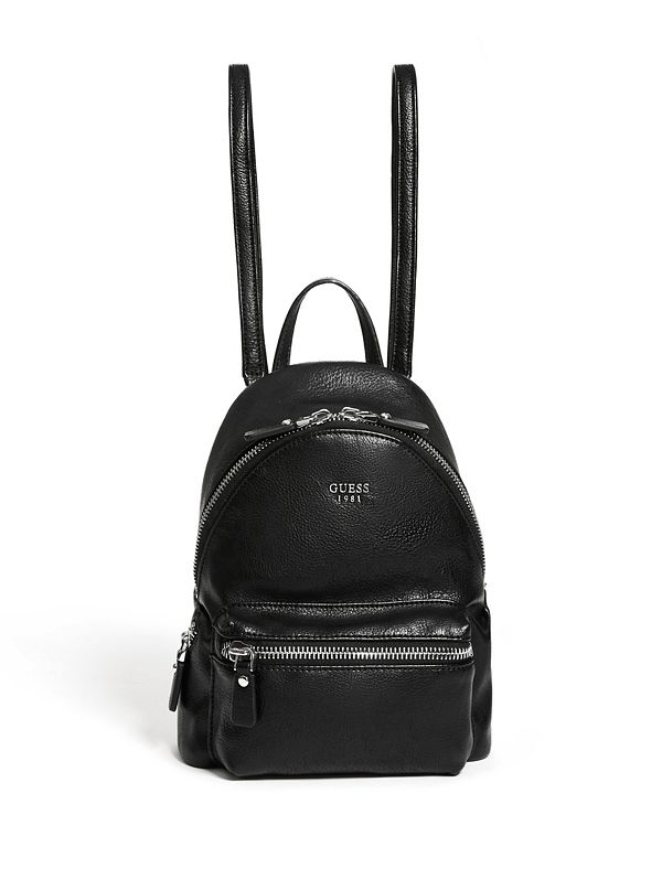 good quality women uk cheap sale Leeza Pebbled Small Backpack | GUESS.com