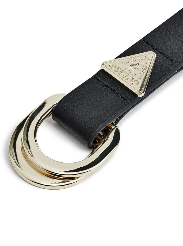 Triangle Logo Belt Guess Com