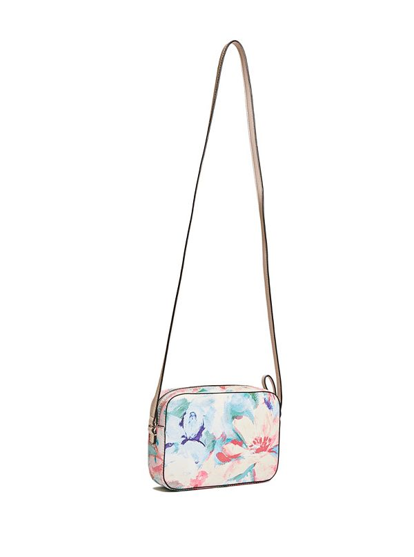 Laken Floral Crossbody | Guess Factory Canada