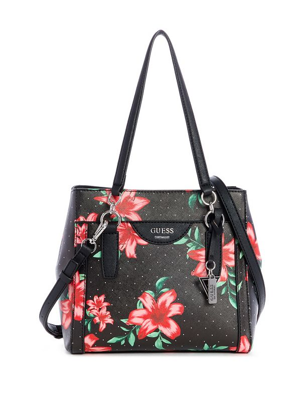 00ae4a4fd Austen Printed Faux-Leather Satchel