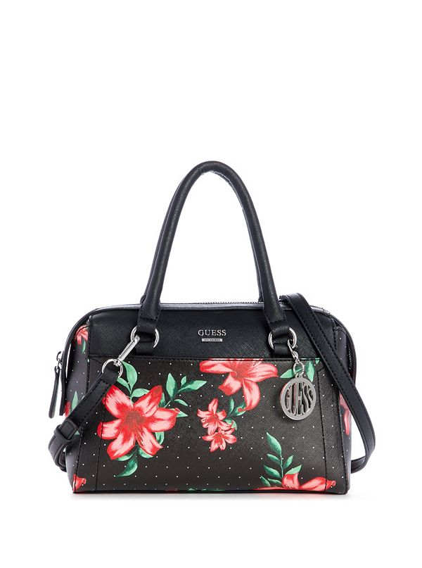 8ad8bc9ef Ettie Printed Faux-Leather Satchel