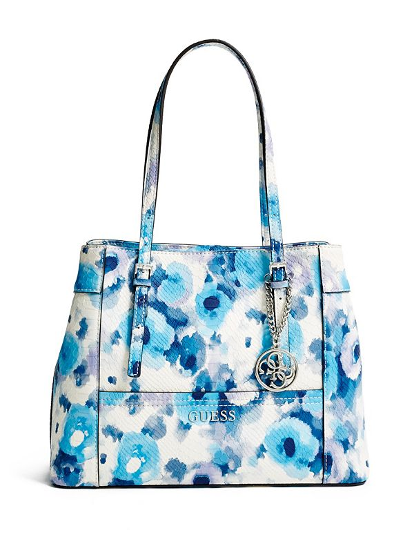 Delaney Floral-Print Shopper Tote | GUESS.com