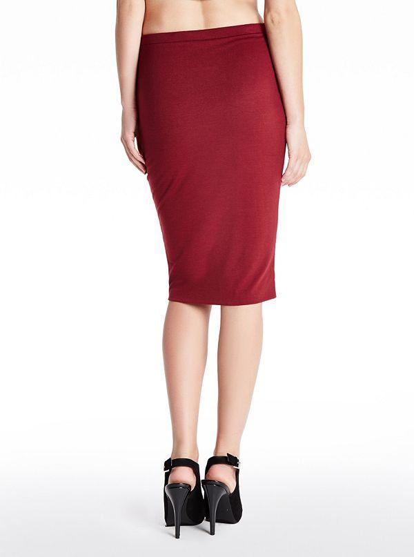 marcee midi skirt guess factory canada