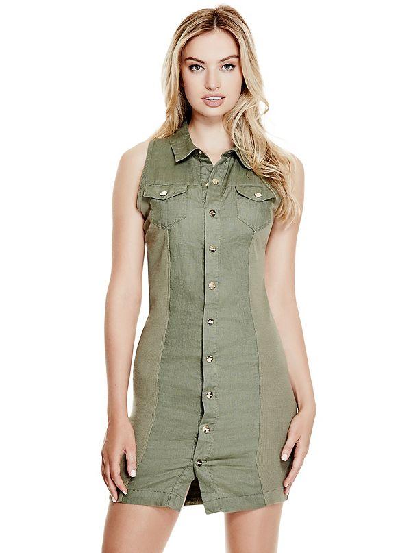83032a376da Blaire Linen Shirtdress