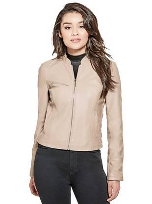 0a390e0cb8eb8 Lilah Faux-Leather Jacket