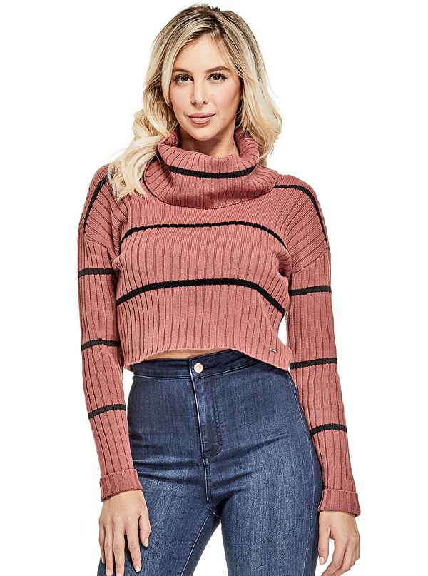 a0c95682e6014 Sale · Ethan Turtleneck Cropped Sweater
