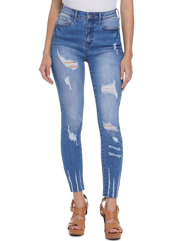 be6fc2c3762 best seller · Lakin Distressed High-Rise Skinny Jeans