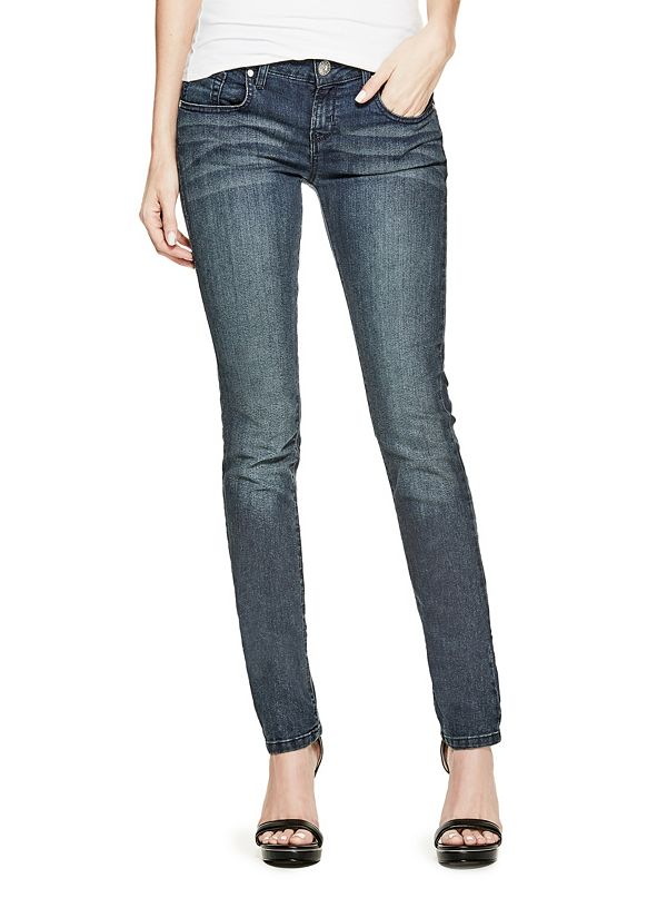 release date: shades of professional sale Sarah Skinny Jeans in Dark Wash | GuessFactory.com