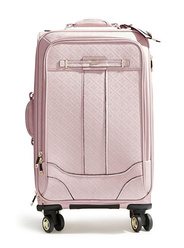 valise rose logo de 21 po 53 3 cm 8 roulettes la vida. Black Bedroom Furniture Sets. Home Design Ideas