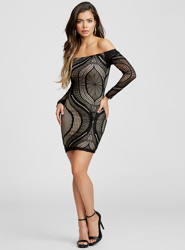 ac19023e8b Nala Lace Off-The-Shoulder Dress