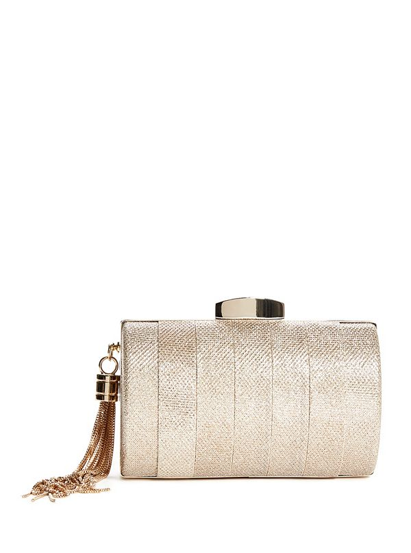 Crystal Fringe Minaudiere by Guess