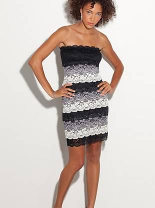 824caea9a8b Tyra Tiered Lace Dress