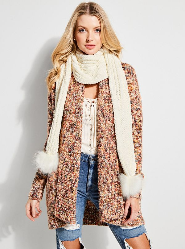 Bailey Faux Fur Infinity Scarf by Guess