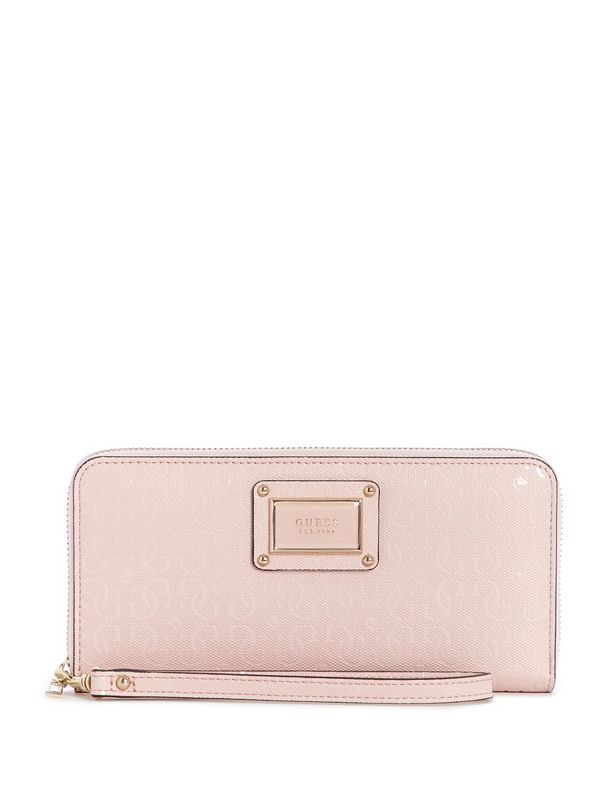 81a59b0098204f Shannon Large Zip-Around Wallet