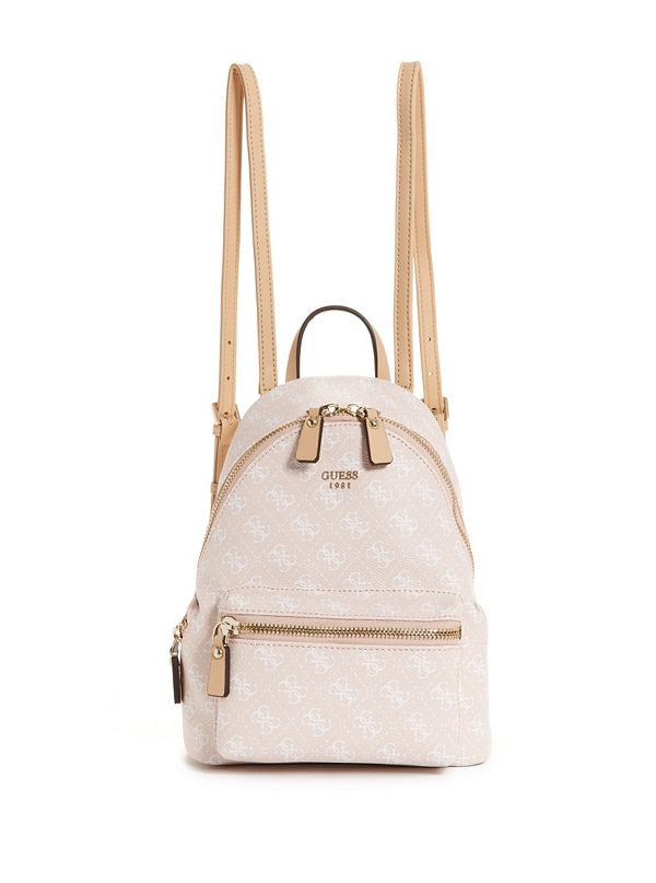 Ryann Embroidered Rose Backpack by Guess