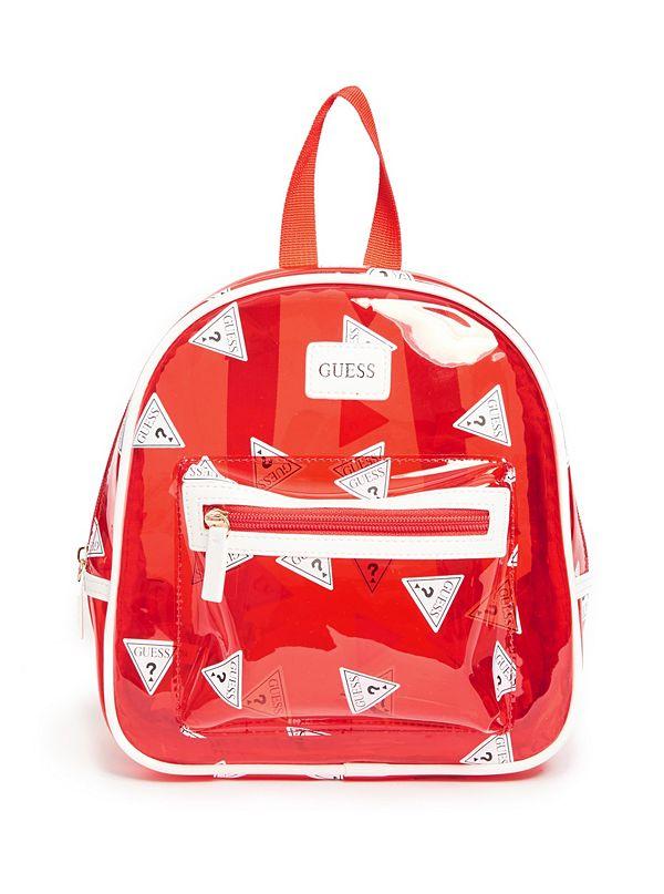 1def7f8e6da9 Clear Logo Backpack