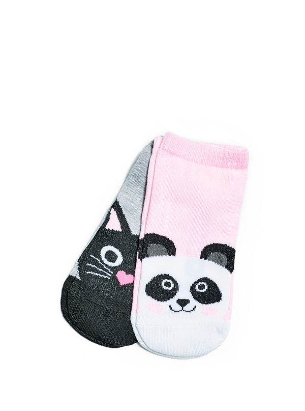 girls animal ankle socks 4 16 guess factory canada