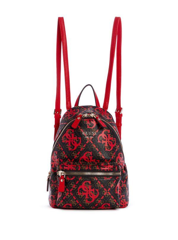 bed77bf3a3 Leeza Logo-Print Backpack