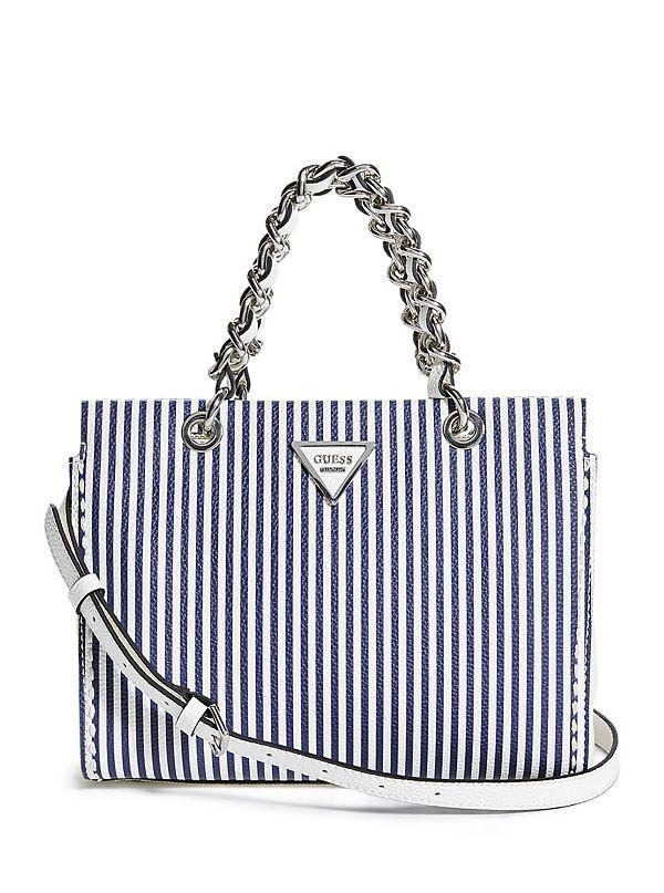 Shop GUESS Sawyer Small Girlfriend Shoulder Bag online in