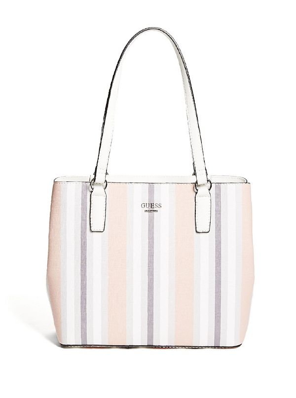 c8da6356d3 Ashlee Striped Trap Tote