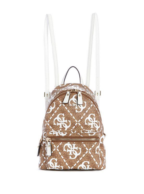 722651b088d7 Leeza Logo-Print Backpack