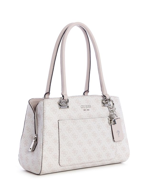 efb29033e0a Kathryn Logo Girlfriend Satchel | GUESS.com