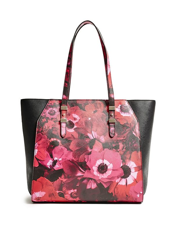 Gia Floral-Print Tote | GUESS.com