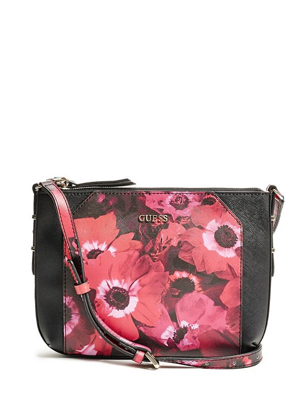Gia Floral-Print Crossbody | GUESS.ca