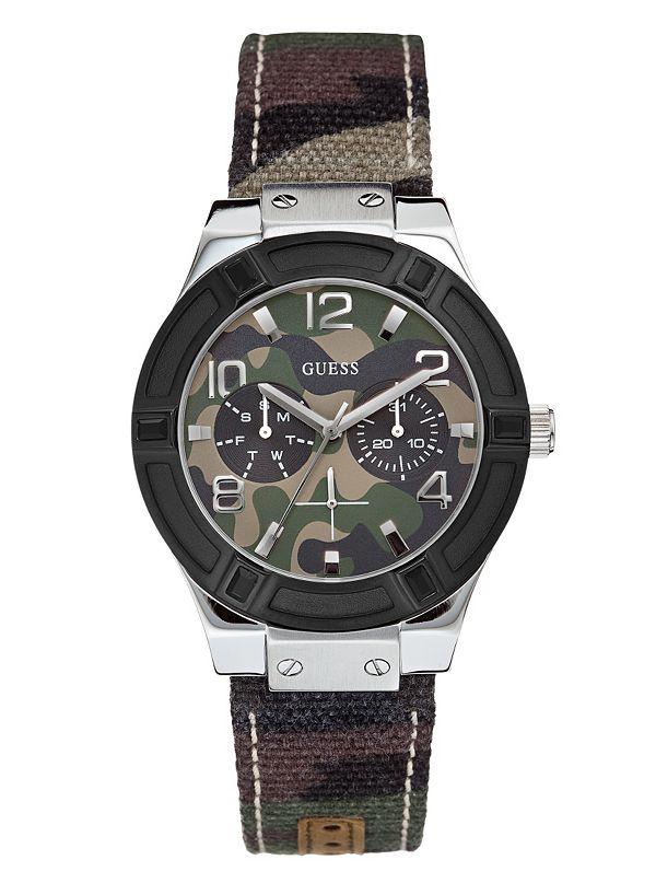 d87e2fb05bb Standout Sparkle Camo Sport Watch