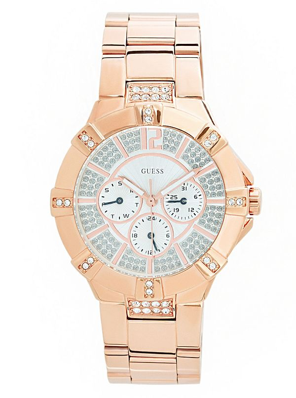 3f86e6132996d Rose Gold-Tone Multifunction Watch