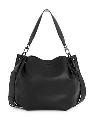 Digital Pebbled Hobo Bag by Guess