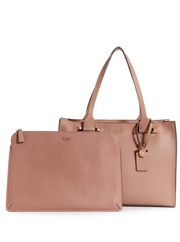 Talan Pebbled Faux Leather Tote