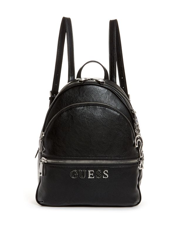 Leeza Pebbled Large Backpack by Guess