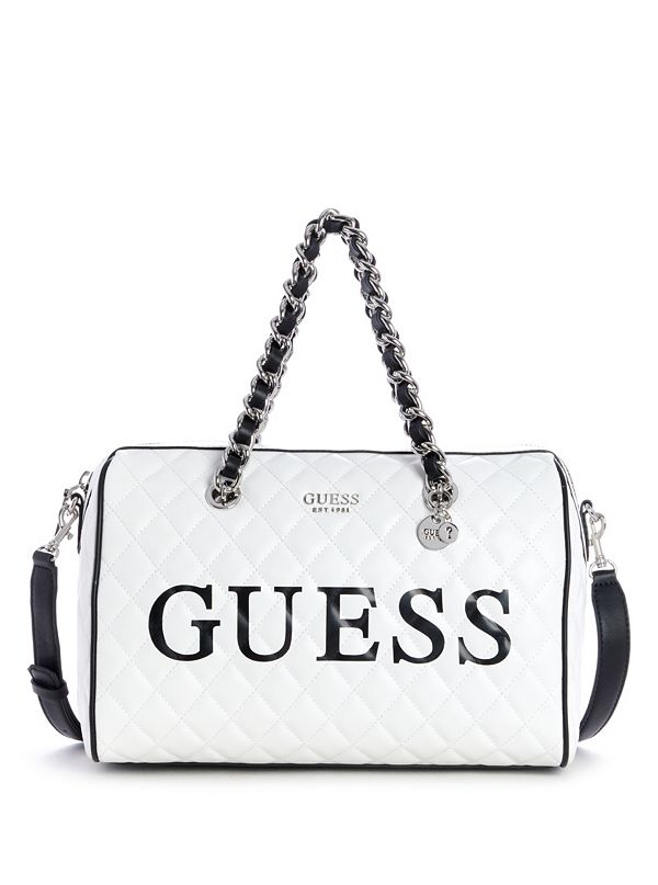 d0a877aa461 Sweet Candy Large Quilted Satchel | GUESS.ca