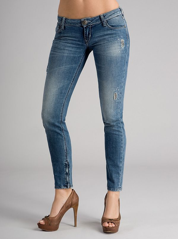 cheap classic the sale of shoes Beverly Skinny Jeans - Blue Wash | GUESS.com