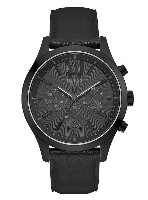 b3a0d4b17f Montre chronographe sport noire