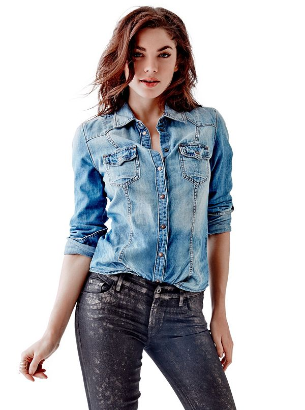 Shop for denim shirt women at grounwhijwgg.cf Free Shipping. Free Returns. All the time.