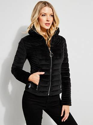 Teoma Quilted Jacket Guess Com