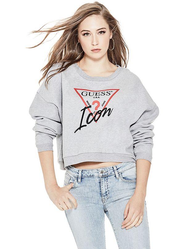 d023fff97cb9 Icon Cropped Sweatshirt